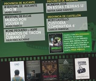 """III Edició """"Festivals en Curt"""" en la Seu de la Universitat a Alacant"""