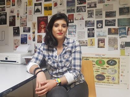 """Gema Amador: """"la meua marca podia arribar a més àrees com el feminisme, la cultura LGTBI i en general injustícies socials"""""""