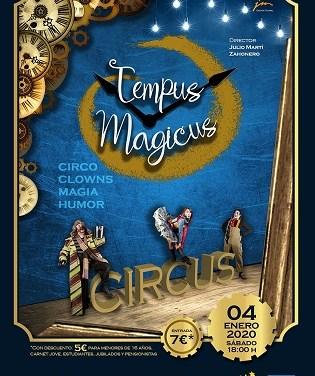 Tempus Magicus. Circo, clowns, magia y humor en el Auditorio de La Nucía