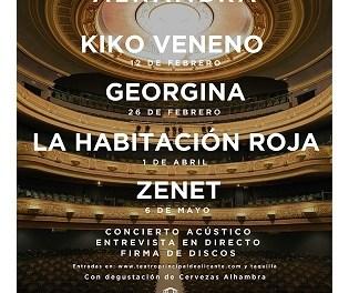 """Ixen a la venda les entrades de """"Momentos Alhambra"""" en el Teatre Principal d'Alacant"""