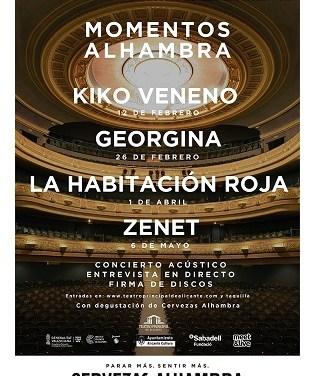 """Salen a la venta las entradas de  """"Momentos Alhambra"""" en el  Teatro Principal de Alicante"""