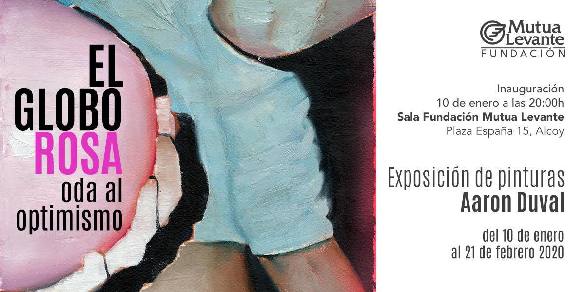 «El Globo Rosa. Oda a l'optimisme», nova exposició en la Fundación Mutua Levante d'Alcoi