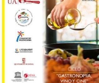 """Arranca el Ciclo """"Gastronomía, vino y cine"""" en la Sede Universitaria de Alicante"""