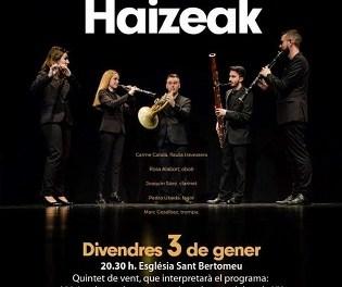 Concert de Haizeak Ensemble a l'Església de Sant Bartolomé de Xàbia