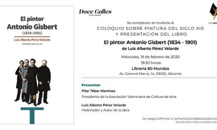 Coloquio sobre arte del siglo XIX y el pintor Antonio Gisbert