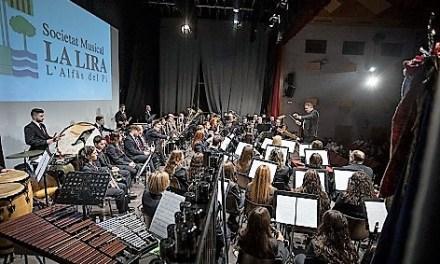 La Sociedad Musical La Lira de l´Alfàs inicia los actos de celebración de su 40 aniversario