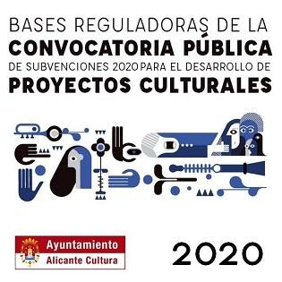 L'Ajuntament d'Alacant destina 37.000 euros a subvencionar el desenvolupament de projectes culturals