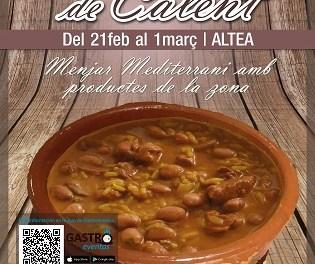 """""""El Plat de Calent"""" torna a Altea amb la seua 4ª edició i 16 establiments participants"""