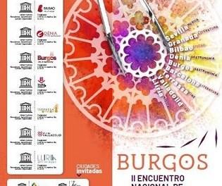 Dénia presenta su proyecto y su cocina en el II Encuentro de Ciudades Creativas españolas que se celebra en Burgos