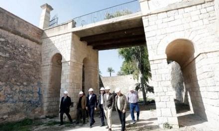 Las obras de rehabilitación y adecuación del Castillo de San Fernando y su entorno comienzan con un presupuesto de 2.400.000 €