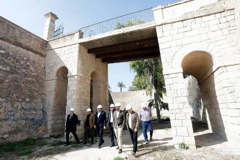 Les obres de rehabilitació i adequació del Castell de Sant Ferran i el seu entorn comencen amb un pressupost de 2.400.000 €