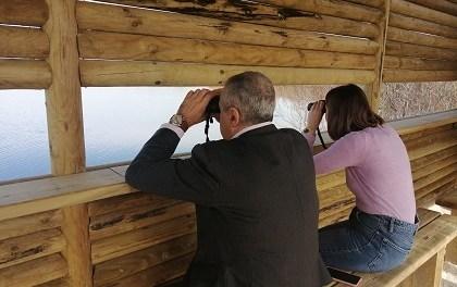 El paraje natural del Clot de Galvany de Elche cuenta con un nuevo observatorio