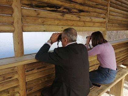 El paratge natural del Clot de Galvany d'Elx compta amb un nou observatori