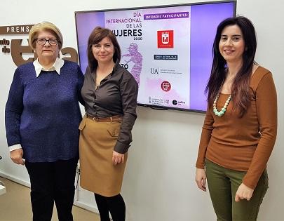 L'Ajuntament d'Elda ofereix un ampli programa d'activitats per a celebrar el 'Dia Internacional de les Dones'