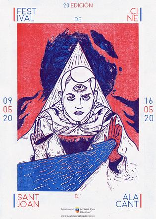 Cartell oficial del Festival de Cinema Sant Joan d'Alacant