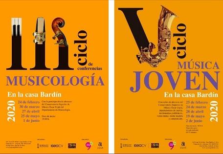 El Instituto Juan Gil-Albert y el MUBAG retoman los ciclos musicales a cargo del alumnado de los conservatorios de Alicante