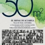 Clausura de la III Bienal de Acuarela 50 m2 en La Nucía, primer municipio que recibió esta gran exposición