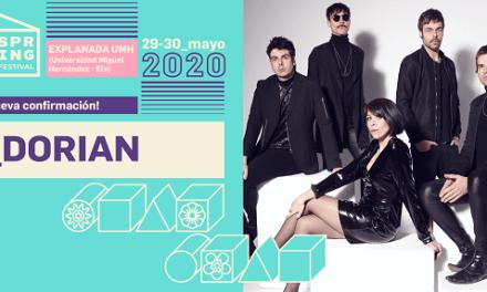 Dorian i les seues melodies mítiques sonaran en Spring Festival Elx 2020