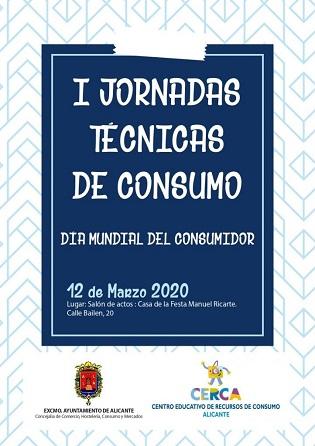 El Ayuntamiento de Alicante invita a participar en las jornadas del Día mundial del Consumidor