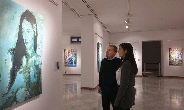 Exposición 'Eón3' del pintor Ángel Rodríguez Cabrera