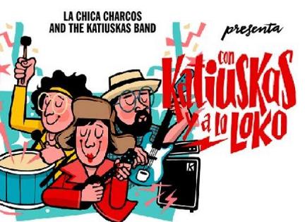 """Directo musical """"Katiuskas y a lo loko"""" en la Llotja de Elche"""
