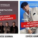 Aplazados los acústicos de La Habitación Roja y Zenet en el Teatro Principal de Alicante
