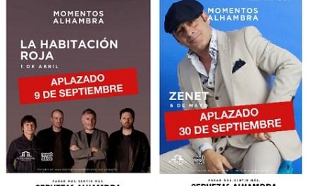 Ajornats els acústics de La Habitación Roja i Zenet al Teatre Principal d'Alacant