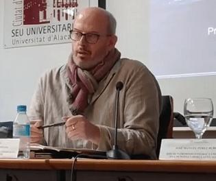 Formació online sobre Història d'Alacant a càrrec de Pablo Rosser
