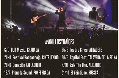 Second actualiza su agenda de conciertos