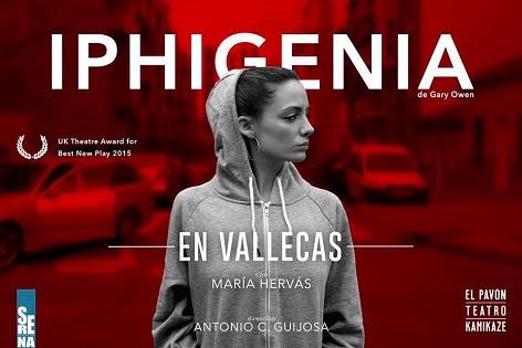 """La función teatral """"IPHIGENIA EN VALLECAS"""" para celebrar el Día Internacional de la Mujer en el Teatro Chapí de Villena"""