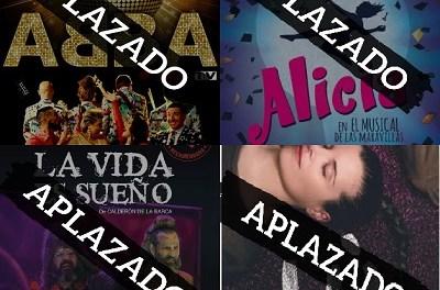 Ajornaments d'espectacles en el Teatre Chapí de Villena