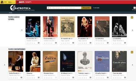 Teatroteca: servei gratuït de préstec de vídeos en línia amb prop de 1000 obres