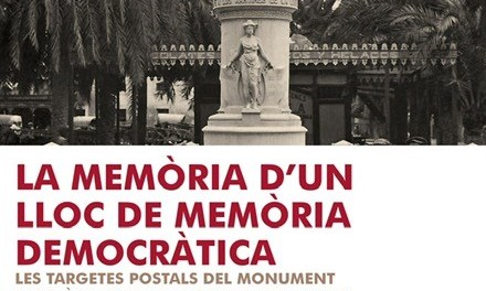 La Universitat d'Alacant porta la seua exposició 'Targetes postals del Monument als Màrtirs de la Llibertat' a l'institut 8 de Març de la ciutat