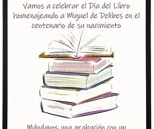 Alicante celebra hoy el Día del Libro con propuestas online en torno a la figura de Miguel Delibes