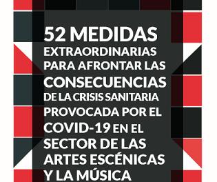 La Red Española de Teatros propone medidas en el sector de las artes escénicas y la música frente al COVID-19