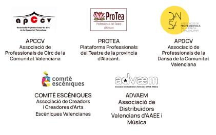 Los profesionales alicantinos de teatro, danza y circo se unen para reconstruir el sector de las artes escénicas después de la crisis de la covid-19