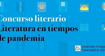 La Universitat d'Alacant convoca el certamen de literatura hiperbreu «Literatura en temps de pandèmia»