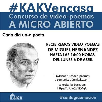 """Concurso de video-poemas """"A Micro Abierto"""" de Villena"""