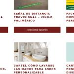 Una agencia situada en El Campello abre una tienda online para servir señales de seguridad en toda España