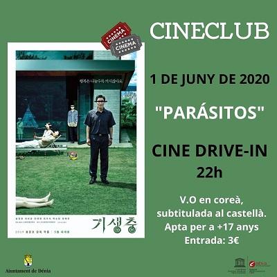 Reprenen el Cineclub a Dénia