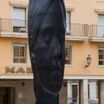 """Las esculturas de Jaume Plensa """"Silvia"""" y """"María"""" seguirán en Elche hasta el mes de septiembre"""