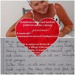 Mas de 2.000 cartas de solidaridad para personas enfermas y afectadas por el coronavirus