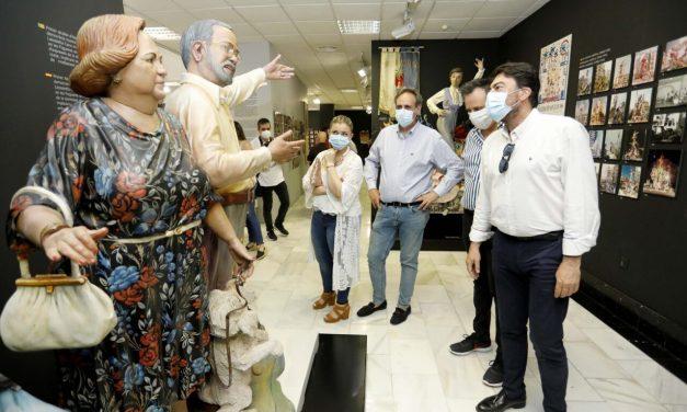 El Museo de Hogueras reabre sus puertas para conmemorar la celebración de la fiesta del fuego hasta 24 de junio con nuevos contenidos