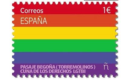 El segell de correus LGTBI per a enviar cartes també d'amor