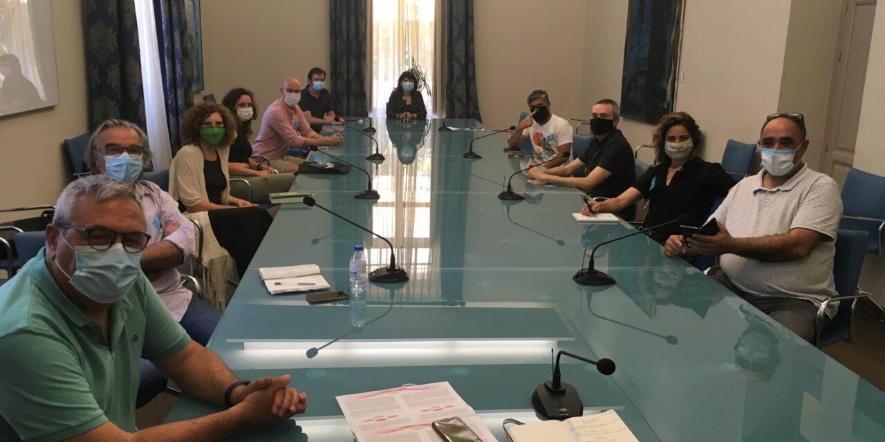 La Diputación constituye una mesa de trabajo para consensuar medidas que favorezcan la recuperación del sector de las artes escénicas