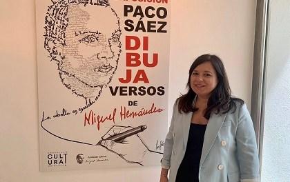 La exposición del ilustrador Paco Sáez en homenaje a Miguel Hernández llega a Orihuela