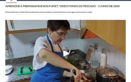 El Centre Majors Salut de la Universitat d'Alacant presenta una col·lecció de videotallers sobre cuina saludable i sostenible