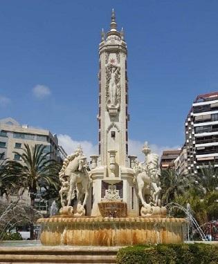 L'Ajuntament d'Alacant restaura la font de la Plaça dels Estels amb unes obres de més de tres-cents mil euros