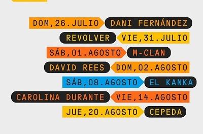 Presentada la programació cultural d'estiu de Torrevieja amb els concerts de M-Clan, Revolver, Cepeda, Carolina Duarte i Dani Férnandez