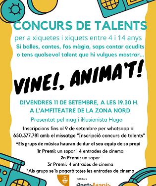 La concejalía de Infancia y Adolescencia de Alcoy organiza un concurso de talentos